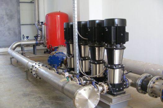 Hidrofor sistemi işletim hizmetleri